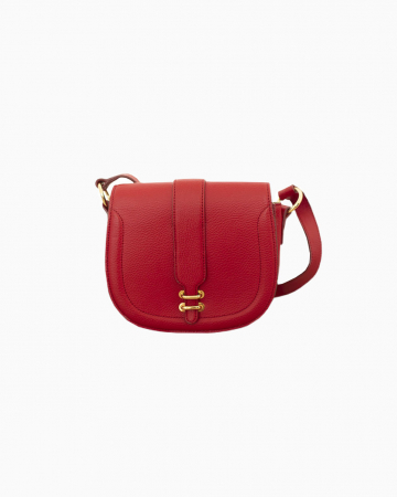 Sac Cuir Rouge Banana Republic