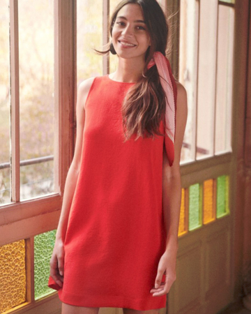Robe Raphaelle Rouge