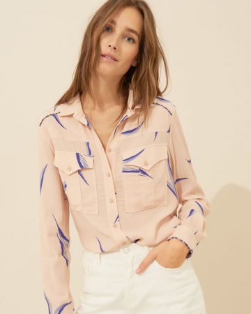 Chemise Terry Nude