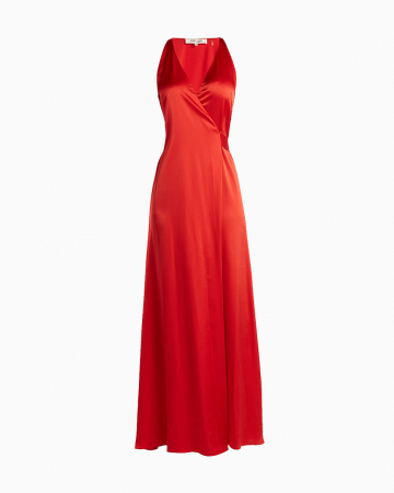 Robe Paola Red Wrap