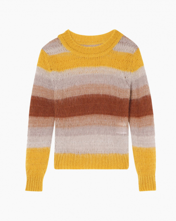 Pull Boo Pachat Jaune Orange