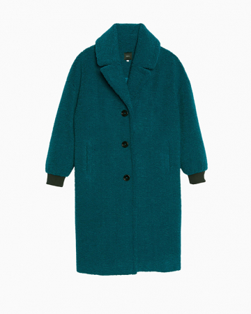 manteau Haricot pinede
