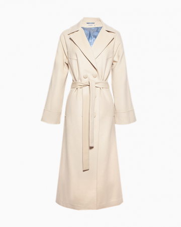 Manteau Beige Long