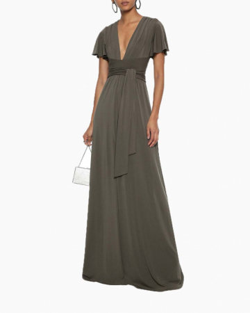 Robe Stretch Jersey Gown