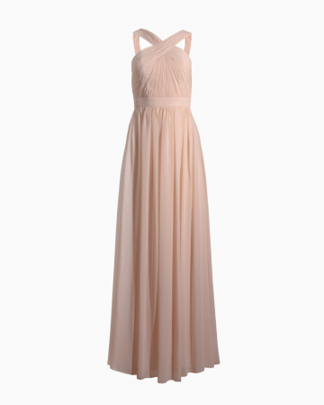 Bridesmaids Pleated Dress