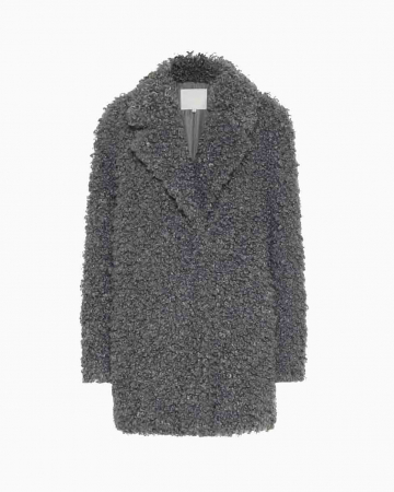 Manteau Faux Fur Grey