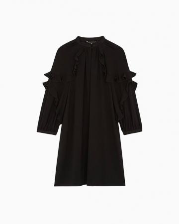 Robe en Crêpe Noire
