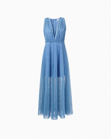 Robe Lace Bleue
