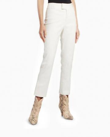 Pantalon Blanc Ecru