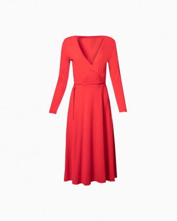 Robe Red Wrap