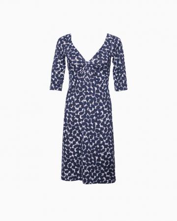 Robe Silk Wrap Blue