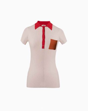 T-Shirt White and Red