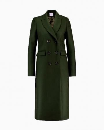 Manteau Classique Vert