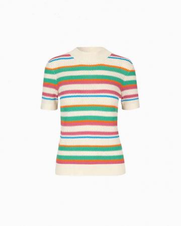 T-shirt Maik Creme de menthe