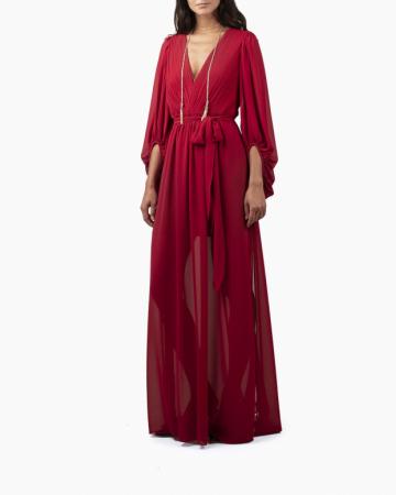 Robe Fortuny Longue