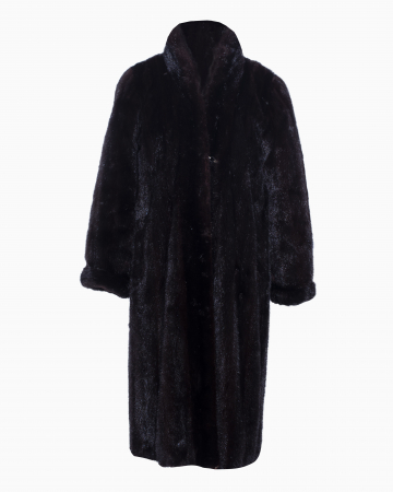 Manteau Vison Noir