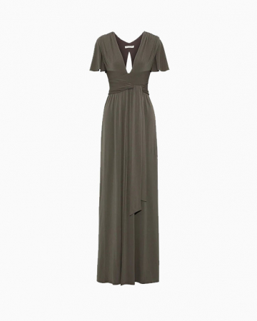 Stretch Jersey Gown