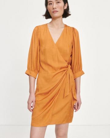 Robe Celestina Ocre