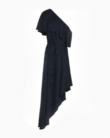 Robe One Shoulder Navy