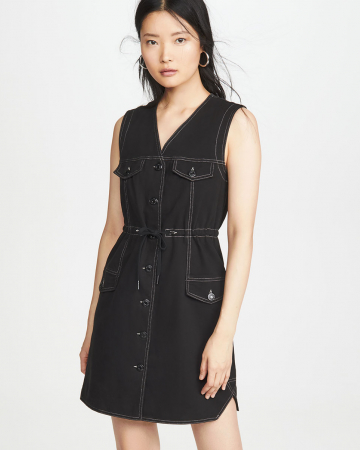 Robe Denim Noir