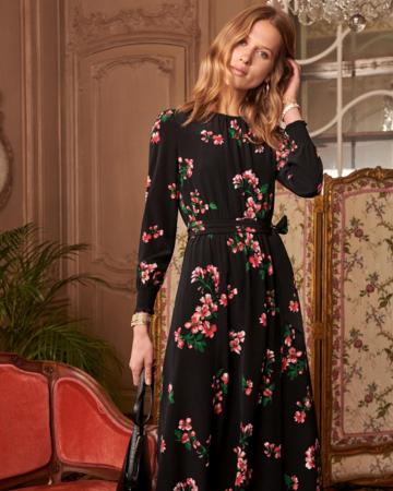 Robe Justine fleur