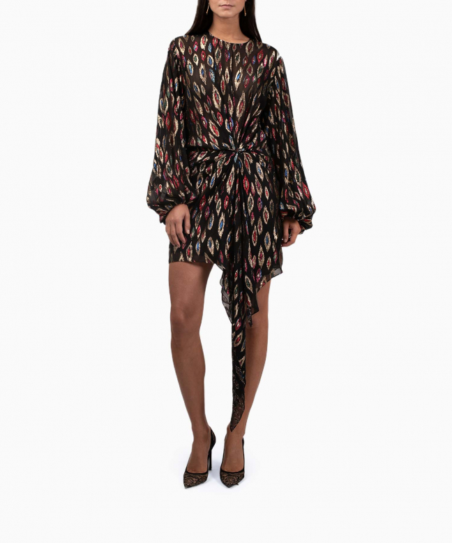 SAINT LAURENT dress rental Peacock. 2