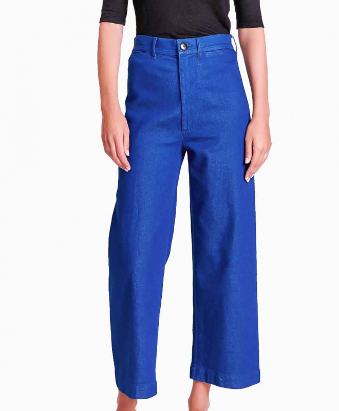 Location pantalon BELLEROSE Lotan Bleu Fonce 2
