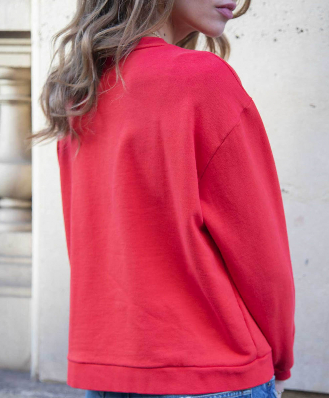 Location Sweat ROSEANNA Amour Rouge 3