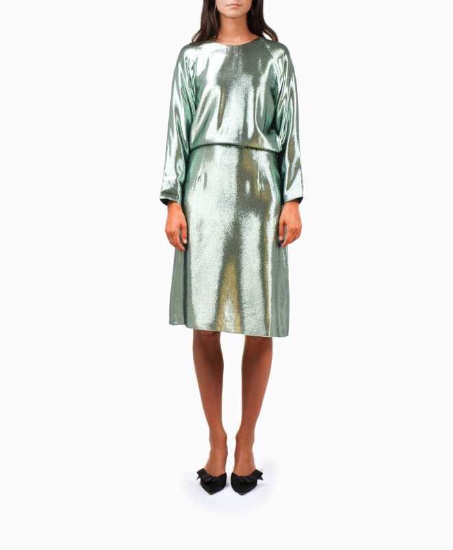 Location robe Indress Glitter Green 1