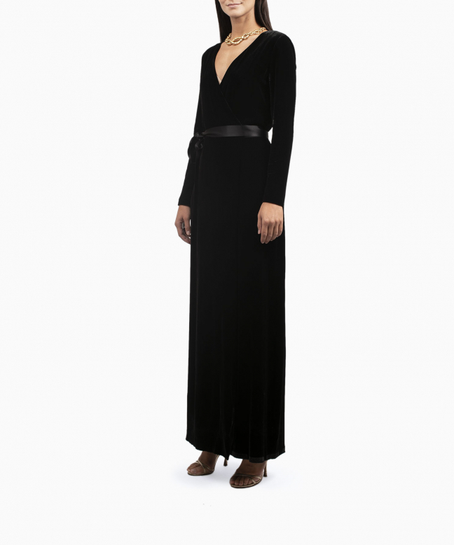 Location robe DVF Julian Wrap 4