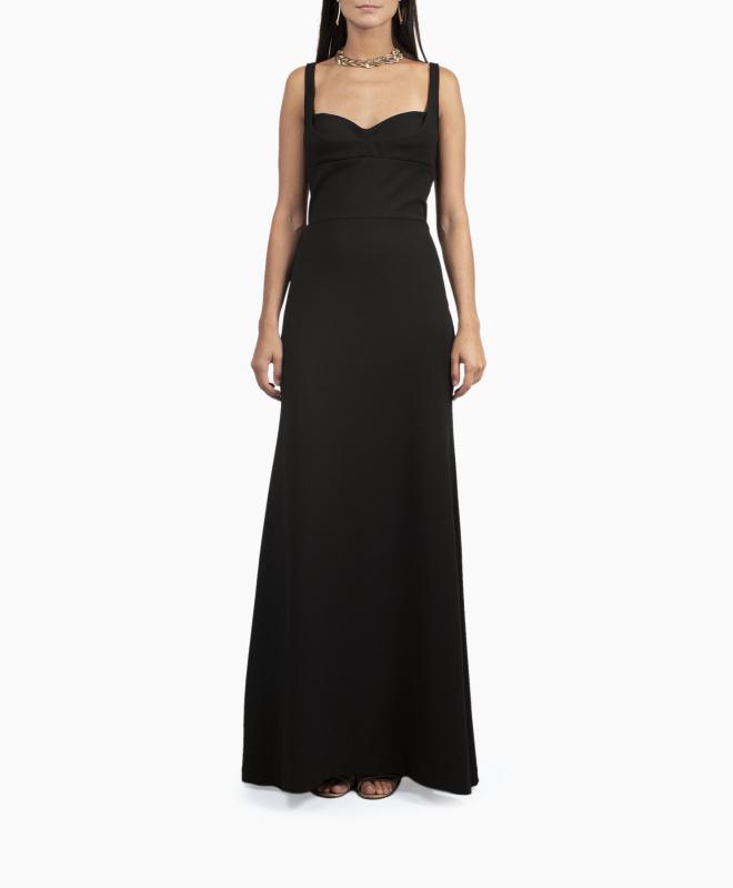 BCBG long dress rental Keana. 1