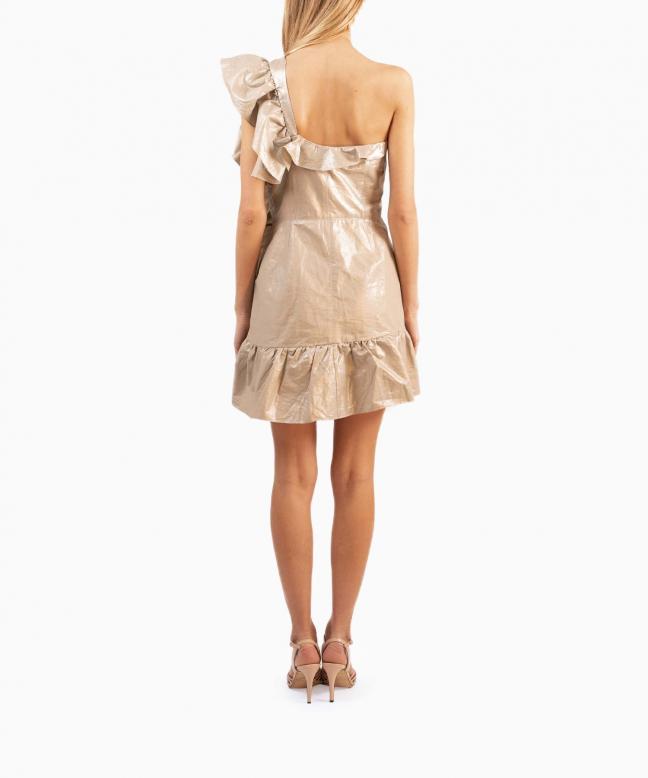 Location robe Isabel Marant Lavern Metallic 3