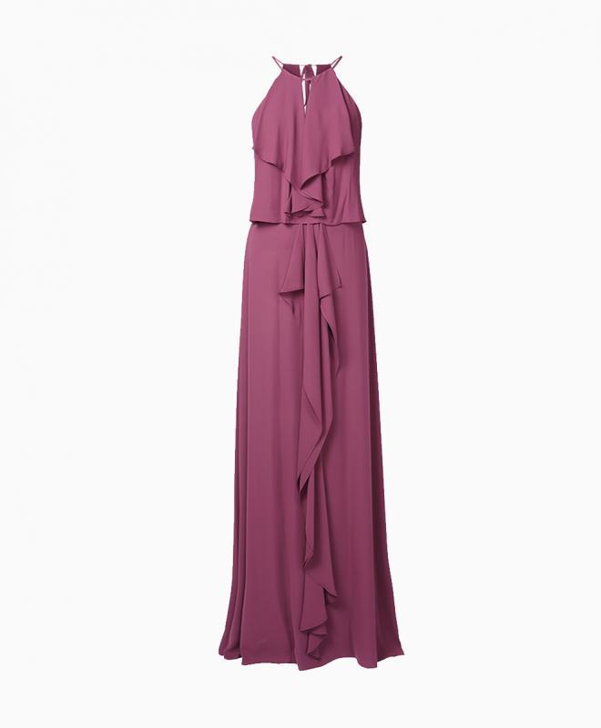 Location robe BCBG Jansia Bordeaux 1