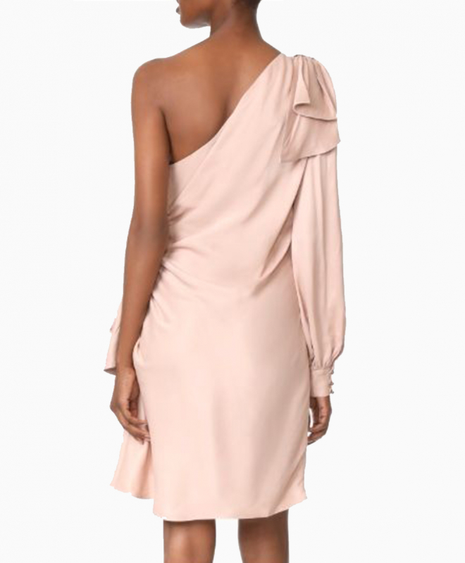 Location robe Zimmermann Maples Bow Blush 3