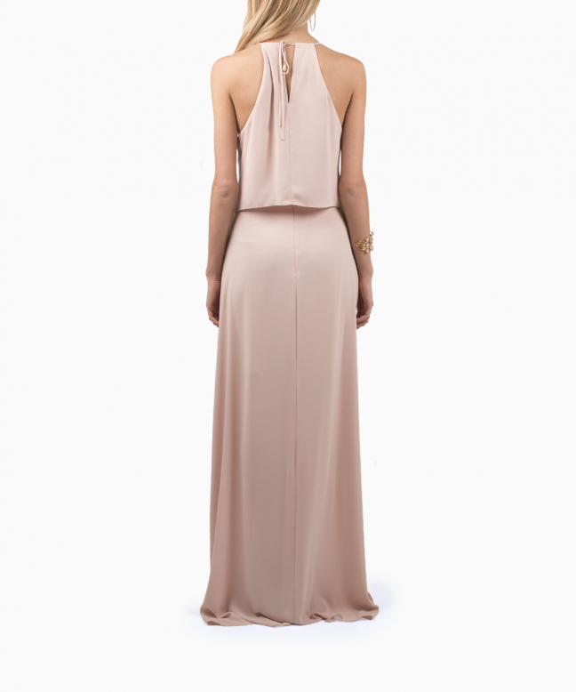 Location robe BCBG Jansia Nude 3