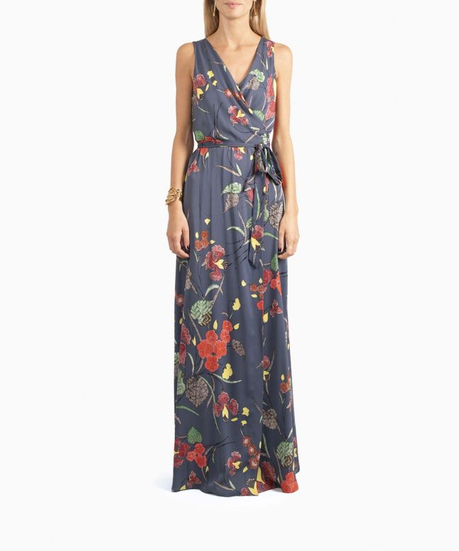 Location robe DVF Floral 2