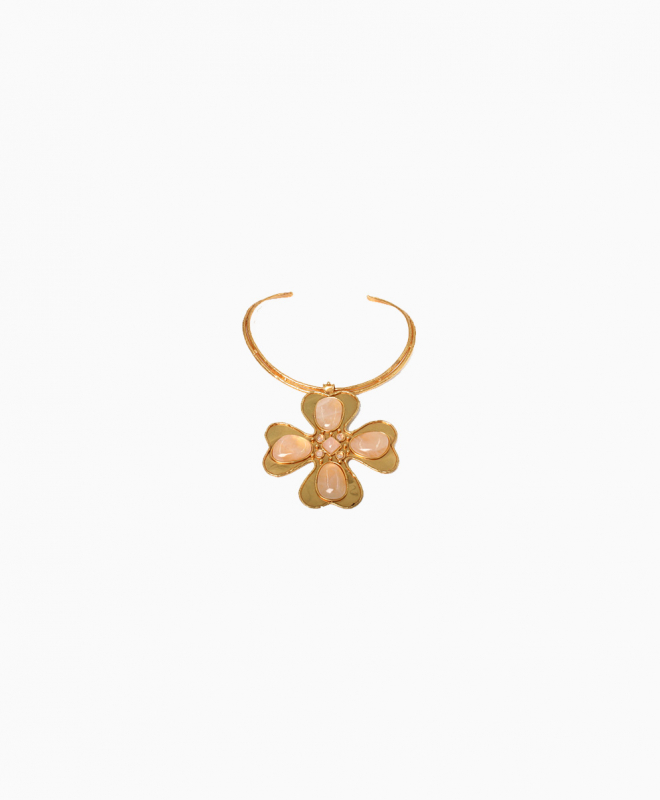 SYLVIA TOLEDANO necklace rental Clover. 1