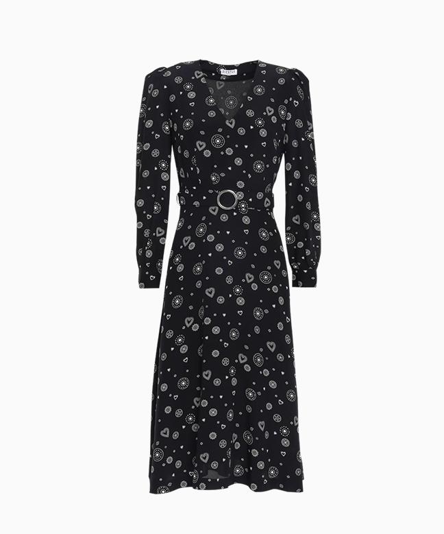 Location robe Claudie Pierlot Romani 1