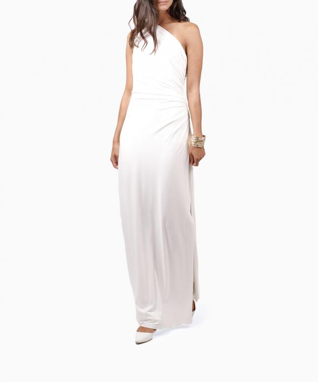 Location robe blanche RALPH LAUREN. 2
