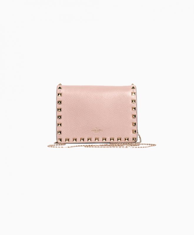 Location sac Valentino Mini Rockstud Rose 1