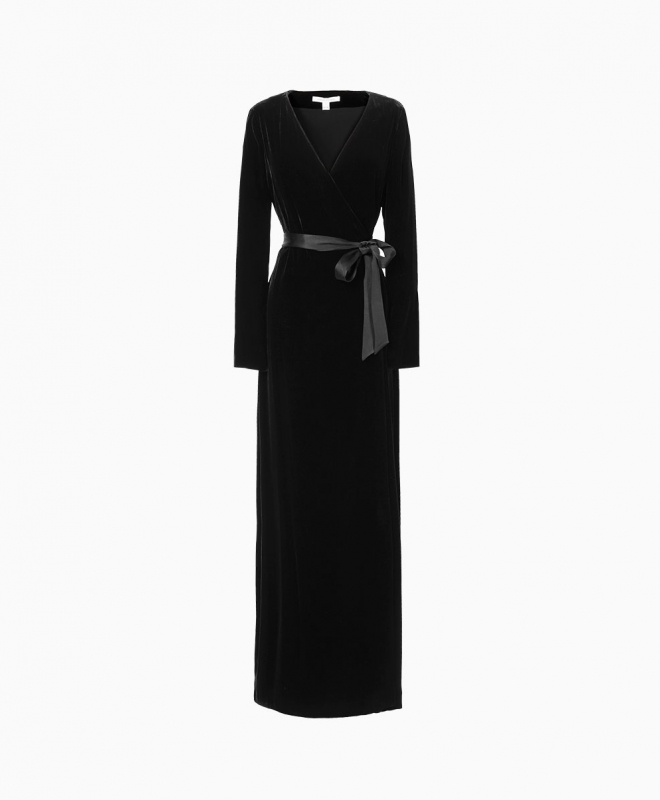 Location robe DVF Julian Wrap 1