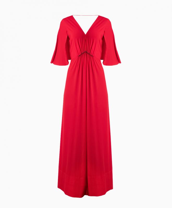 Location robe Halston Heritage Rouge 1