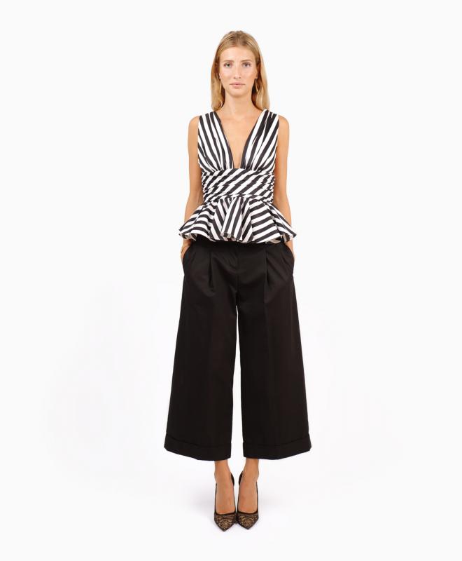 Location pantalon CELINE Taille Haute Noir 1