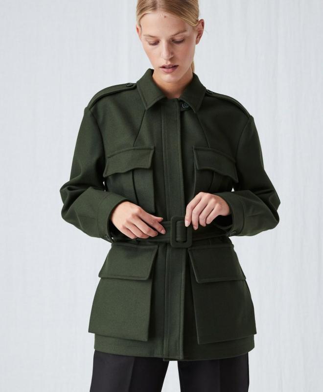Location veste ARKET Melton Wool 2