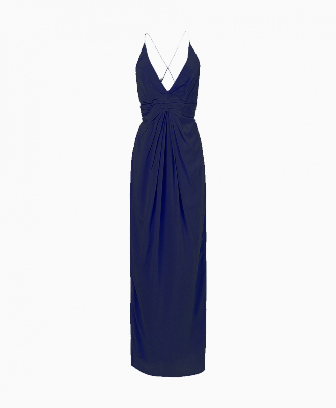 Location robe Zimmermann Silhouette Navy 1