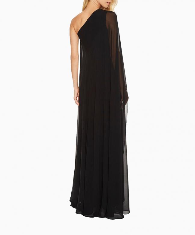 CALVIN KLEIN long dress rental Asymmetric. 3