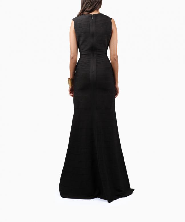 Location robe longue Hervé Léger Roma 3