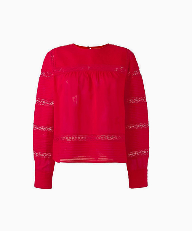 Location top ISABEL MARANT Rexton Rouge 1
