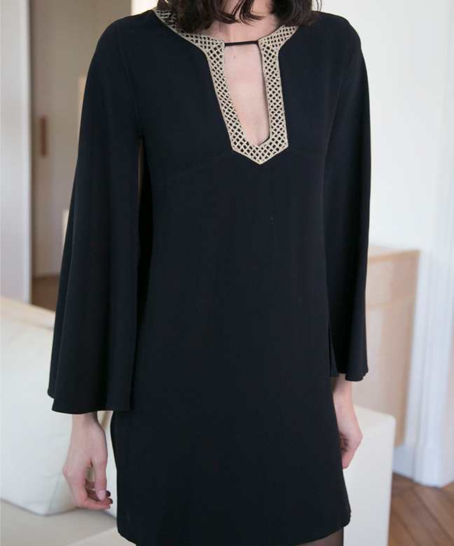 Location robe Vanessa Seward Antique Noire 2