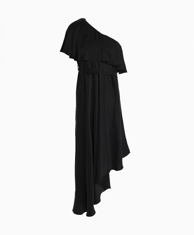 Location robe noire ZIMMERMANN One Shoulder 1
